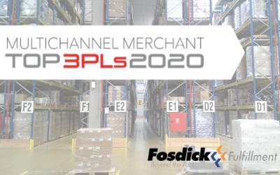 Fosdick Fulfillment | MCM Top 3PL 2020